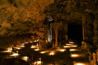 Südafrika South Africa Kleine Karoo Oudtshoorn Cango Caves Tropfsteinhöhle Höhle Saal