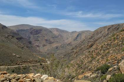 Südafrika South Africa Kleine Karoo Oudtshoorn Swartberge Swartberg Pass Berge Tal