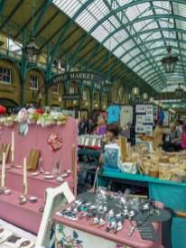 Großbritannien UK England London West End Covent Garden Halle Apple Market