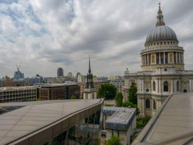 Großbritannien England UK London St Pauls Cathedral Kathedrale Dachterrasse Kaufhaus One New Change