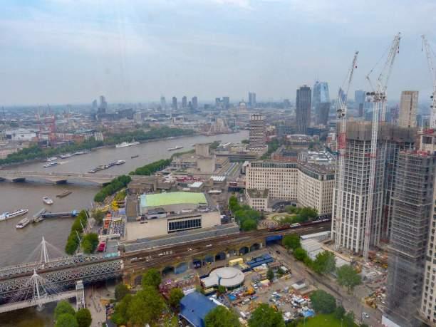 Großbritannien England UK London London Eye Riesenrad Themse Soutbank Ausblick