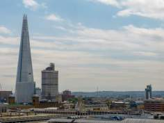 Großbritannien England UK London St Pauls Cathedral Kathedrale Dachterrasse Kaufhaus One New Change Ausblick The Shard