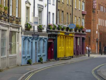 Großbritannien UK England London Straße Fassaden