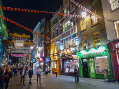 Großbritannien UK England London West End Chinatown