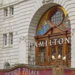 Großbritannien UK England London West End Theatreland Musicals Victoria Palace Theatre Hamilton