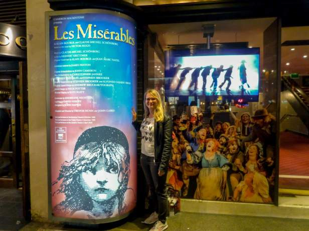 Großbritannien UK England London West End Theatreworld Musicals Queens Theatre Les Miserables Les Mis