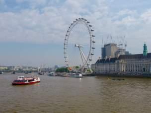 Großbritannien England UK London London Eye Riesenrad Themse