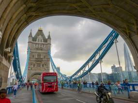 Großbritannien England UK London Tower Bridge Brücke Themse