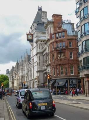 Großbritannien England UK London City of London Straßen