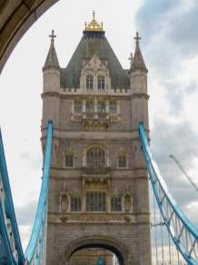 Großbritannien England UK London Tower Bridge Brücke Themse Turm