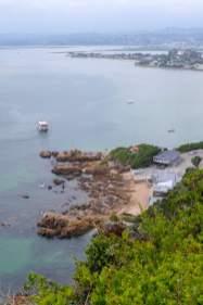 Afrika Südafrika South Africa Garden Route Knysna Eastern Heads Lagune Ausblick