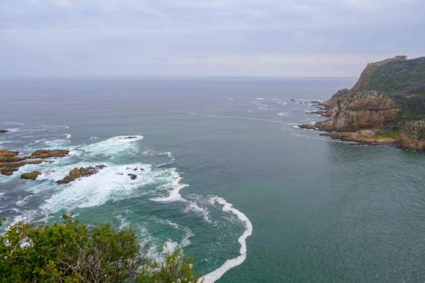Afrika Südafrika South Africa Garden Route Knysna Eastern Heads Lagune Meer Ausblick