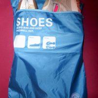 Travel Hack Koffer packen Packwürfel Beutel Schuhe