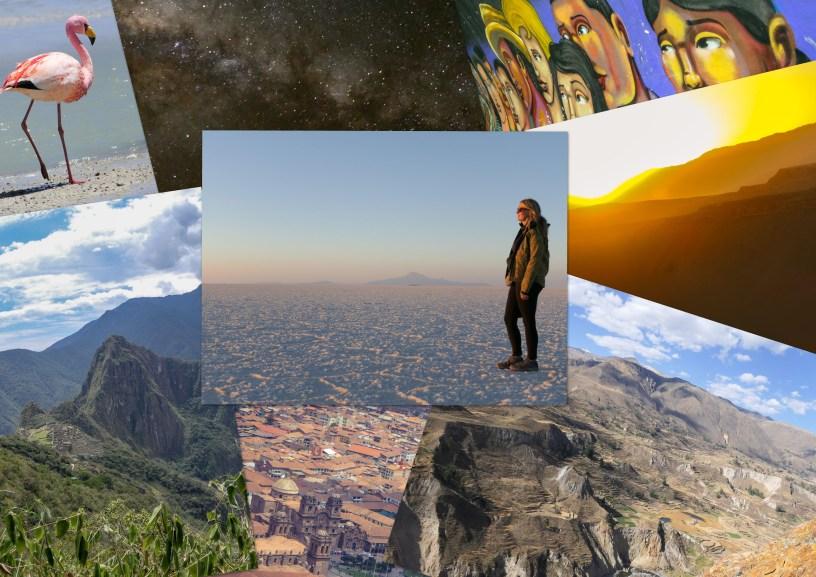 Südamerika Lateinamerika Rundreise Peru Bolivien Chile Fotoparade Collage Fotos