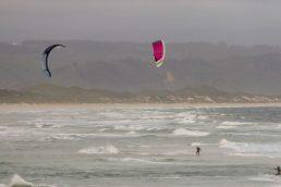 Südafrika South Africa Kap Garden Route Plettenberg Bay Lookout Beach Strand Meer Surfen Kitesurfer