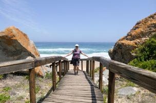Südafrika South Africa Garden Route Kap Plettenberg Bay Robberg Nature Reserve Naturreservat Halbinsel Wanderung Gap