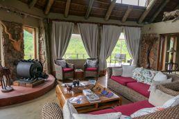 Südafrika South Africa Garden Route Ostkap Sibuya Game Reserve Wildreservat Bush Lodge Wohnzimmer