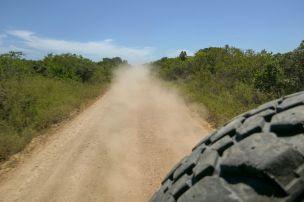 Südafrika South Africa Garden Route Ostkap Sibuya Game Reserve Wildreservat Safari Geländewagen Offroad