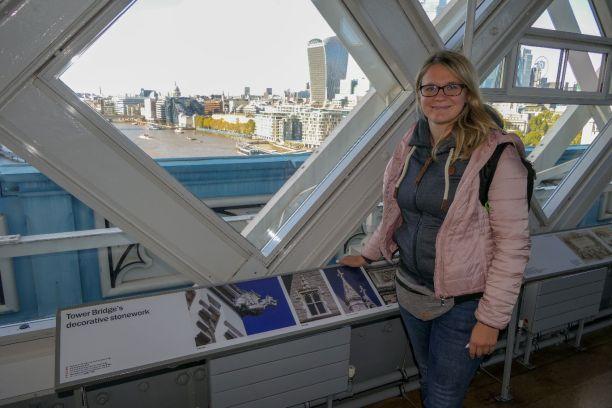 London England UK Tower Bridge Experience Brücke Museum Themse ausblick
