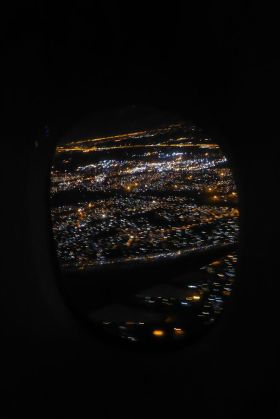Südafrika South Africa Johannesburg Flugzeug Heimreise