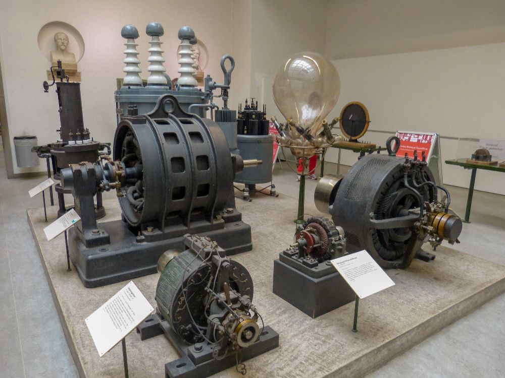 Deutsches Museum München Deutschland Naturwissenschaft Technik Maschinen Starkstrom Elektrizität