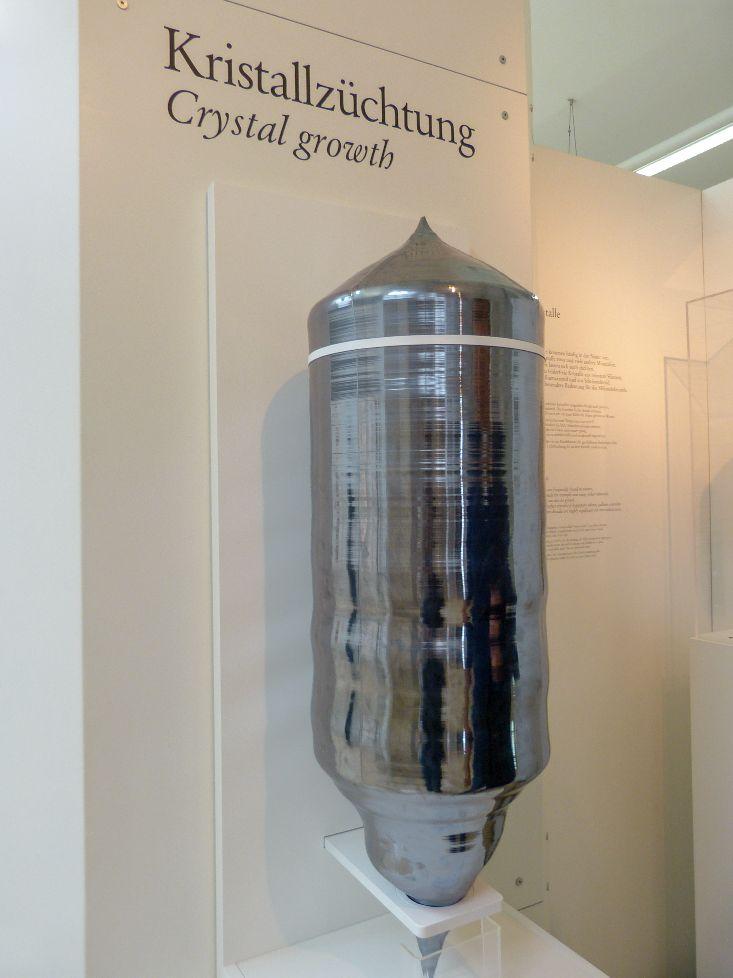 Deutsches Museum München Deutschland Naturwissenschaft Technik Messtechnik Kristall Züchtung