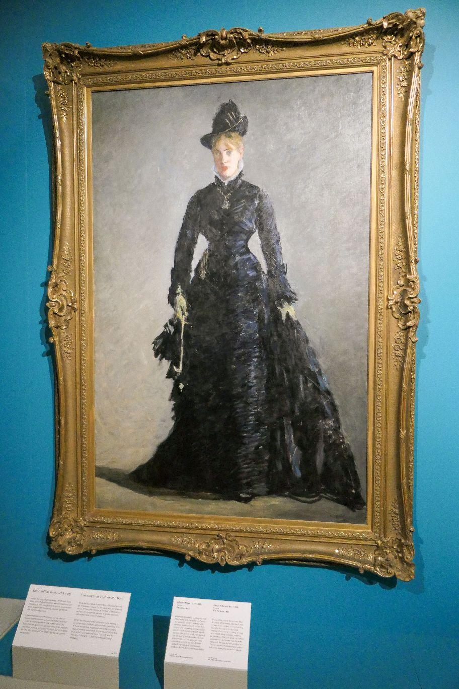 Stockholm Schweden Nationalmuseum Museum Kunst Gemälde Die Pariserin Edouard Manet