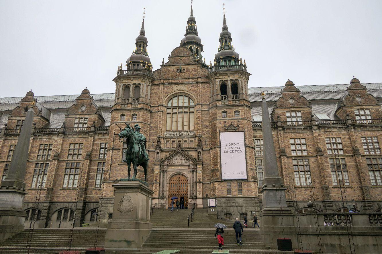 Stockholm Schweden Djurgarden Nordisches Museum