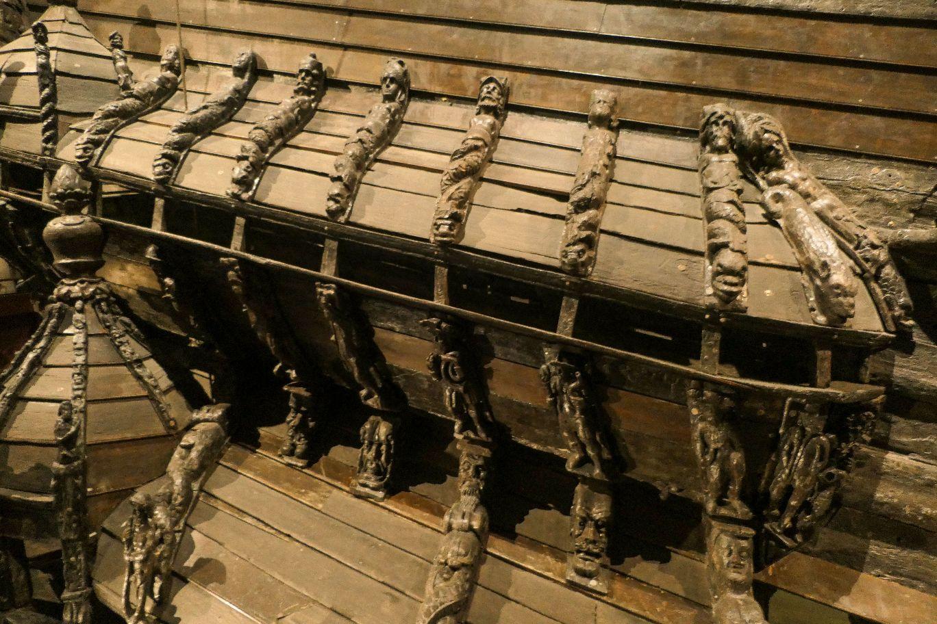 Stockholm Schweden Djurgarden Vasa Museum Schiff Kriegsschiff historisch