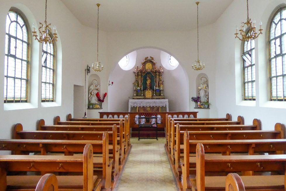 Deutschland Schwarzwald Hochschwarzwald Aftersteg Kapelle