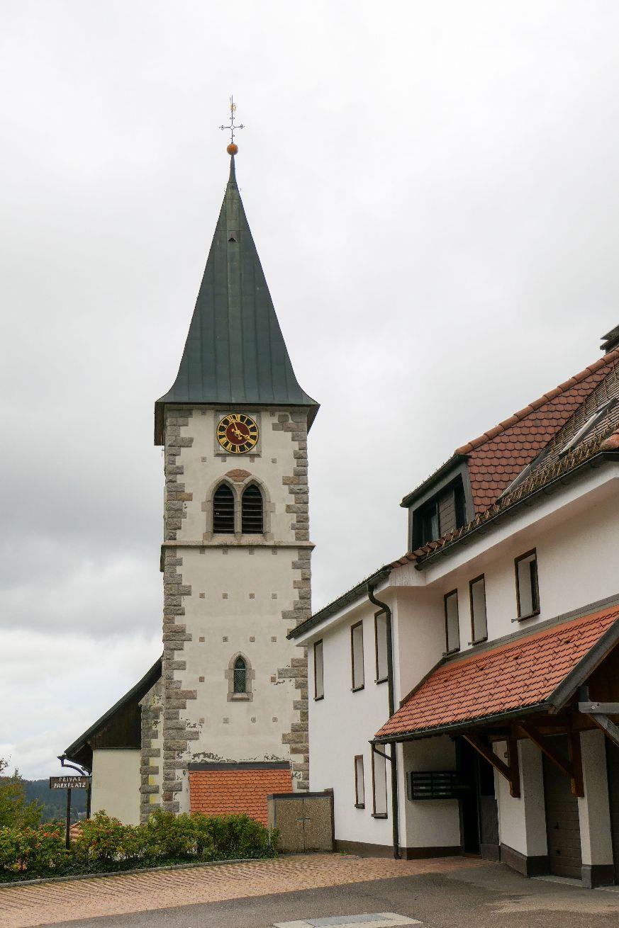 Deutschland Schwarzwald Hochschwarzwald Kirche Altglashütten