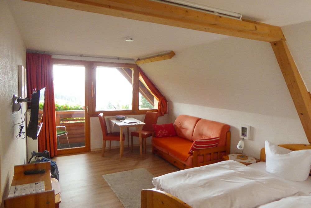 Deutschland Schwarzwald Hochschwarzwald Todtnauberg Pension Elisabeth Hotel Zimmer