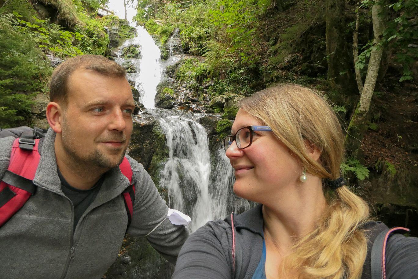 Deutschland Schwarzwald Hochschwarzwald Todtnauberg Todtnauer Wasserfall zweite Stufe