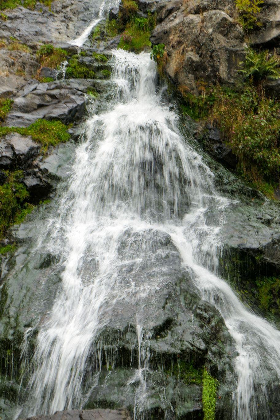 Deutschland Schwarzwald Hochschwarzwald Todtnauberg Todtnauer Wasserfall höchste Stufe
