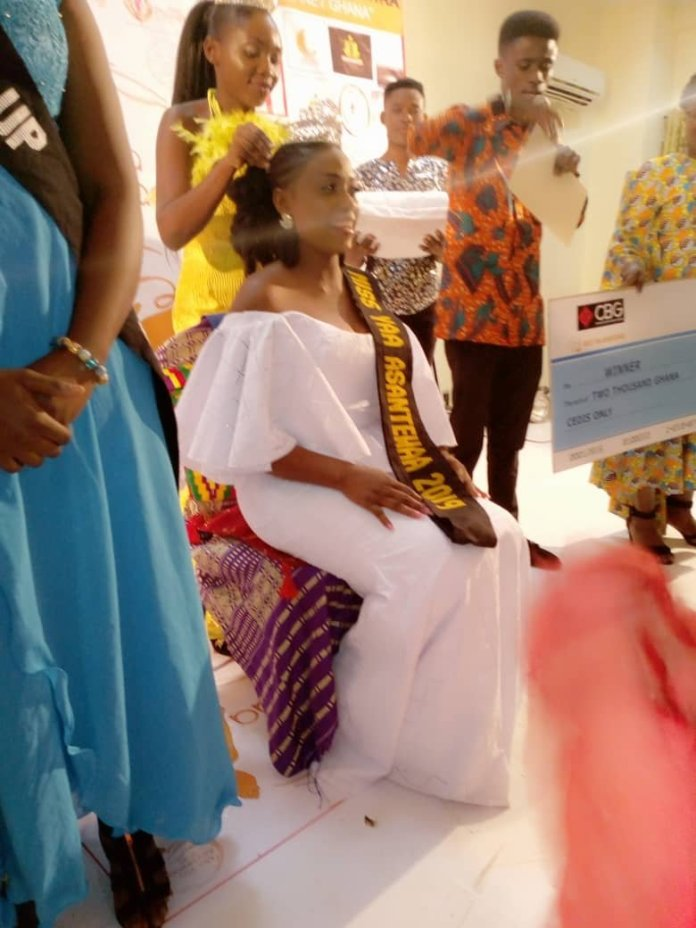 Amadie crowned winner of Miss Yaa Asantewaa 2020, check out her juicy prize