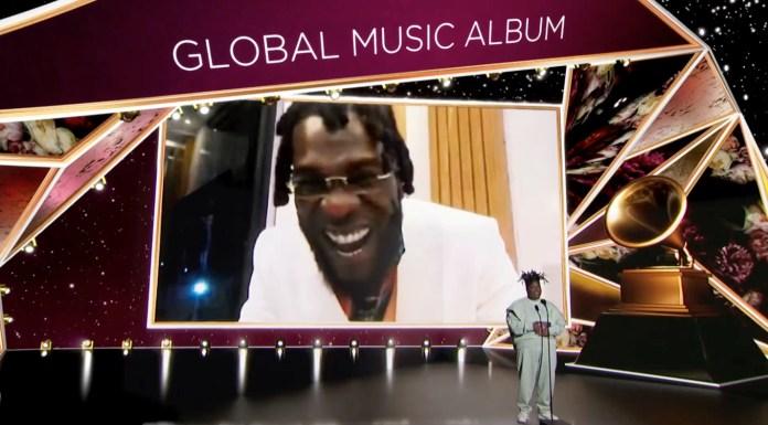 Burna Boy wins GRAMMY Award for Best Global Music Album - #GRAMMYs