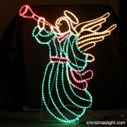 led light angel