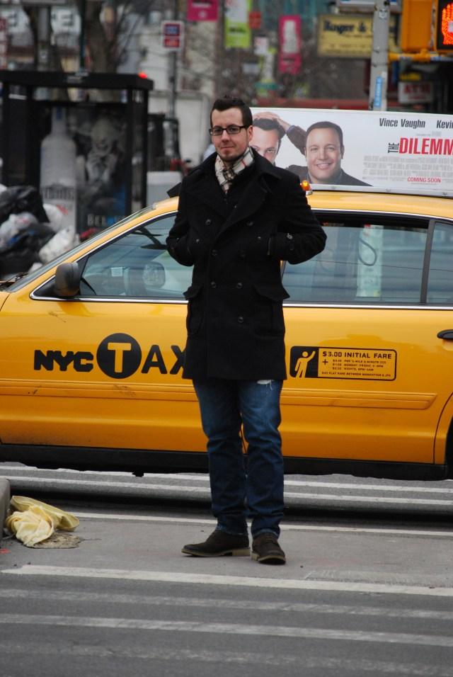 Ist zwar kein deutsches Taxi, dafür aber eine nette Erinnerung an den NY-Ausflug