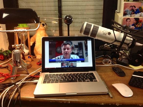 Hangout-Gespräch zur Drosselkom