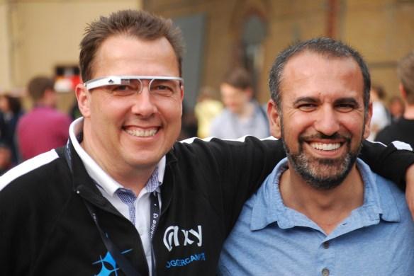 Google Glass als Kontaktmaschine
