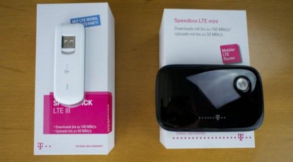 LTE Stick und Box