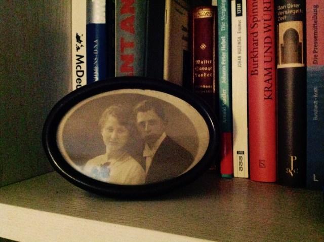 Frieda und Wilhelm Sohn, Foto aus den 20er Jahren.