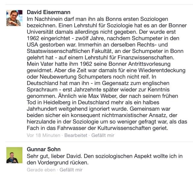 Eisermann Schumpeter