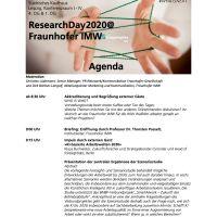 #ResearchDay2020: Man hört, sieht und streamt sich am Donnerstag in Leipzig @DirkLangolf @foresight_lab @rafbuff @Fraunhofer #EconTwitter — ichsagmal.com