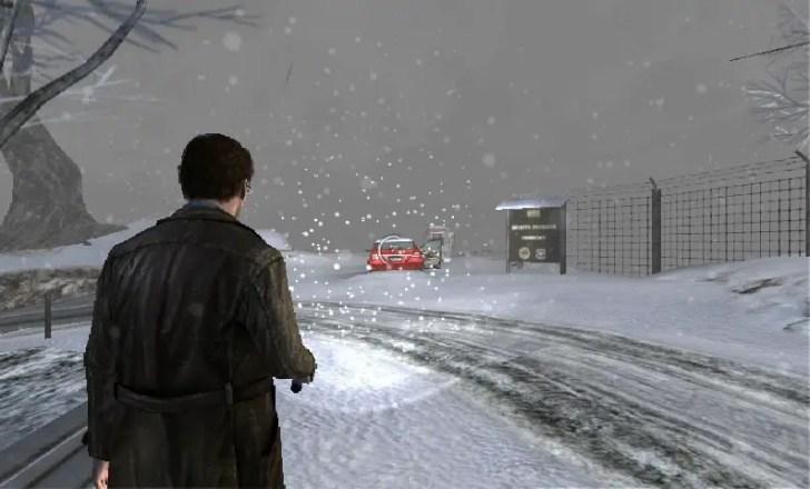 Silent Hill: Shattered Memories - verschneite Straße