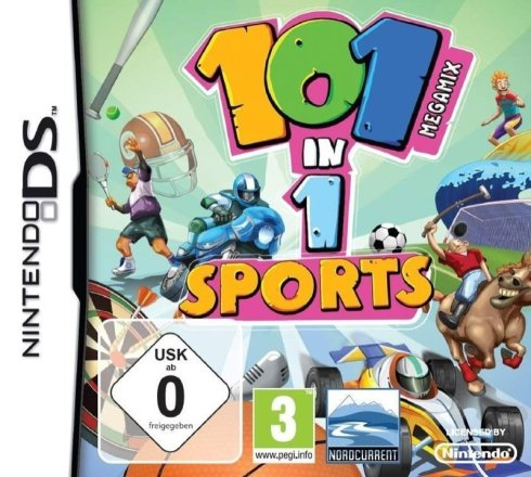 101-in-1 Megamix Sports - Cover NDS