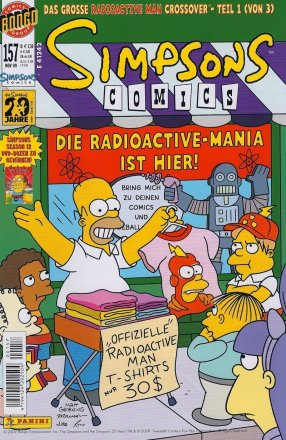 Simpsons Comics #157
