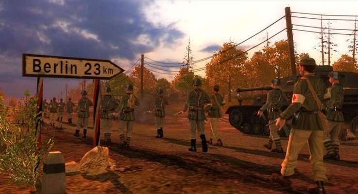 Rush to Berlin - Screenshot