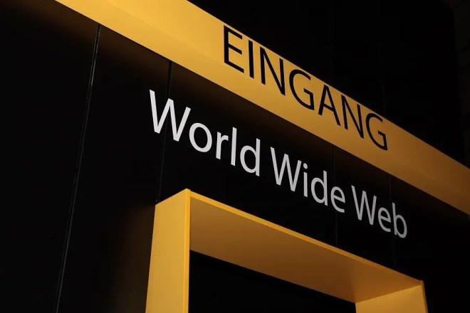 Eingang zum World Wide Web, Foto: Frederic Schneider