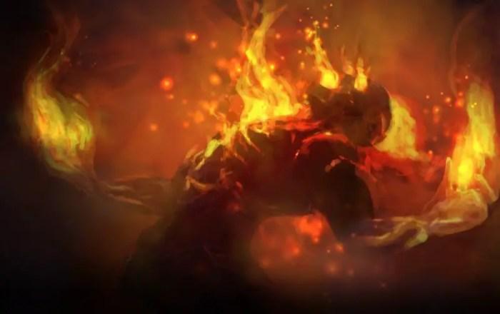 Brand, die brennende Vergeltung